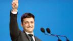Der neue ukrainische Präsident, Wolodymyr Selensky.