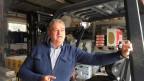 Der ungarische Unternehmer Zoltan Salakta in seinem Betrieb. Er profitiert von vielen öffentlichen Aufträgen in Györ und Umgebung.