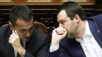 Luigi Di Maio (links), Chef der 5 Stelle, und Matteo Salvini von der Lega.