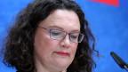 SPD-Parteichefin Andrea Nahles.