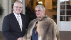 Der Minister für Indigene, Ken Wyatt (rechts), mit dem australischen Premierminister Scott Morrison.