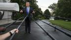 US-Präsident Donald Trump vor den Medien