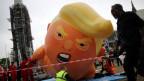 Proteste gegen den Staatsbesuch von US-Präsident Trump in London.