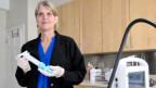 Eine Ärztin in einer Abtreibungsklinik in New York, USA.