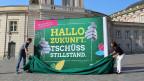 Wahlkampfauftakt von Bündnis 90 Die Grünen für die Landtagswahl in Brandenburg. Die Wahl findet am 1. September 2019 statt.