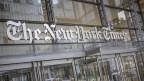 Das Logo der New York Times.