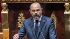 Frankreichs Premierminister Edouard Philippe präsentiert die Schwerpunkte der zweiten Hälfte der Amtszeit von Emmanuel Macron.