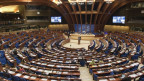 Sitzungsraum des Europaparlaments.