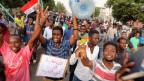 Proteste in der Hauptstadt Khartum.