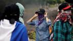 Protestmärsche und Grosskundgebungen gegen Honduras' Regierung.