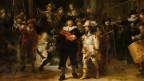 Ausschnitt aus dem Rembrandt-Gemälde «Die Nachtwache».