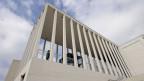 Das nach Plänen des Architekten David Chipperfield entstandene zentrale Empfangsgebäude der Museumsinsel Berlin.