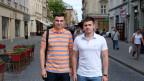Zwei Kandidaten in Lemberg