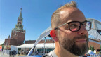 Russland-Korrespondent David Nauer auf dem Roten Platz.