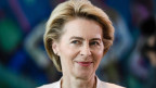 Ursula von der Leyen, designierte Präsidentin der EU-Kommission vor dem EU-Parlament in Strassburg am 16. Juli 2019.