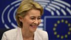 Ursula von der Leyen, neue Präsidentin der EU-Kommission. vo