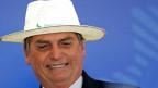Jair Bolosonaro, Präsident von Brasilien.