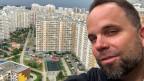 Russland-Korrespondent David Nauer in Moskowsky, einer Siedlung in Neu-Moskau.