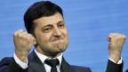 Wolodymyr Selensky geht gestärkt aus den ukrainischen Parlamentwahlen.