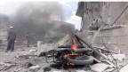 Idlib in Trümmern nach einem Bombenangriff am 16. Juli 2019.