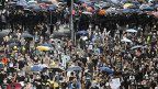 Protestmarsch in Hongkong am 28. Juli 2019.