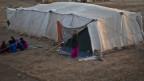 Symbolbild. Ein Flüchtlingslager in Syrien.