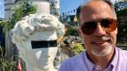 Bar-Besuch mit Deutschland-Korrespondent Peter Voegeli.