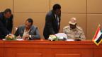 Handelseinigkeit in Sudan