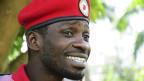 Bobi Wine, ugandischer Reggae-Sänger.