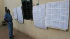 Wahllisten im Sudan.