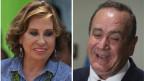 Wahlen in Guatemala: Sandra Torres und Alejandro Giammattei.