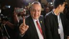 Er ist die Nummer eins im Land: Der neue guatemaltekische Präsident Alejandro Giammattei.