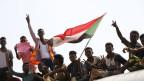 Aktivisten feiern die Vereinbarung in Khartum