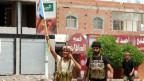 Separatisten-Milizionäre triumphiern in Aden in Südjemen