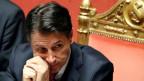 Italiens Regierungschef Giuseppe Conte hat seinen Rücktritt erklärt.