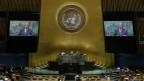 Die UNO-Generalversammlung in New York.