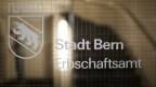 Eingang zum Erbschaftsamt der Stadt Bern.
