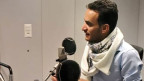 Farea al Muslimi im Radiostudio Bern.