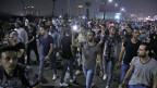Demonstranten in der Innenstadt von Kairo.