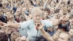 Das Bild zeigt eine Demonstration in der DDR