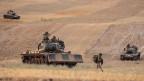 Türkische Truppen in Syrien am 15.10.2019.