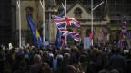 Anti-Brexit-Demonstration vor dem Parlament in London