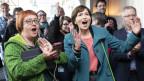 Regula Rytz und die Grüne-Partei gewinnen die Wahl.