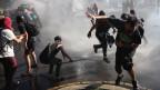 Demonstrationen gegen Chancenlosigkeit in Chile