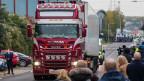 Am 23. Oktober wurden insgesamt 39 Leichen in einem LKW-Container entdeckt.