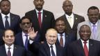 Der russisch-afrikanische Gipfel am 23./24. Oktober 2019 in Sotschi.