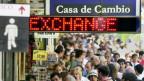 Wechselstube in Buenos Aires.