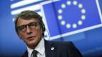Der Präsident des Europäischen Parlaments, David Sassoli reist nach Nordmazedonien.