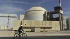 Ein Kernkraftwerk nahe der iranischen Stadt Bushehr