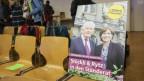 Ein Plakat für die Ständeratswahl mit Regula Rytz und Hans Stöckli.